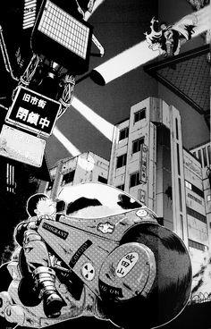 """from """"Akira"""" by Katsuhiro Otomo"""