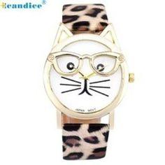 Luxury Brand Women Clock Cute Glasses Cat Women Quartz Watch http://ift.tt/2u5LG0j  #watches #watchesonline #onlinewatches #wristwatches #ladieswatch #womenwatches #myinstagram