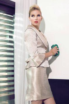 Vestido de Cocktail de Carla Ruiz 2013 - Modelo 88242