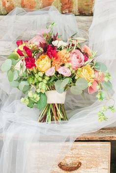 36 Gorgeous Summer Wedding Bouquets ❤ See more: http://www.weddingforward.com/gorgeous-summer-wedding-bouquets/ #wedding