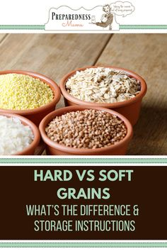 One of the things you need to consider when deciding how long a grain will store is whether it is a hard grain or a soft grain. Find out more from our guide.