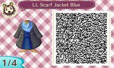 winter coat blue animal crossing qr codes