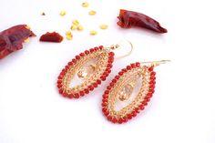 Large Swarovski Crystal Earrings, Long Earrings, #jewelry #earrings @EtsyMktgTool http://etsy.me/2i7IYSZ