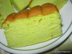 Pandan Ogura Cake Recipe (Phong Hong Bakes)