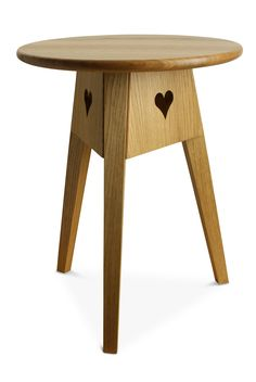Side Table With Pierced Heart Motifs. Side TablesBeautiful Things Amazing Pictures