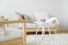 Living room, White is new black