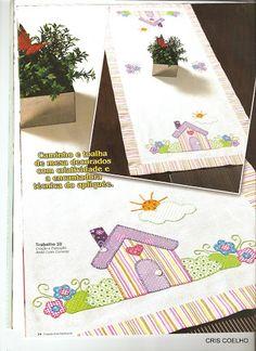 Criando Arte Patchwork Especial Apliqée n°18 - maria cristina Coelho - Álbuns da web do Picasa