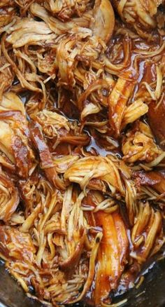 The Best Crockpot BBQ Chicken Recipe
