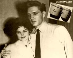 This was Elvis's 1st XMAS with Priscilla. It was celebrated with family and friends at Elvis's rented home on Goethetrasse. Priscilla gave Elvis a set of bongo drums. Meanwhile, Elvis had arranged for a French poodle to be delivered to girlfriend Anita Wood in Memphis. December, 1959