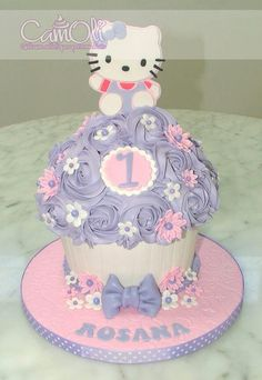 Gros cupcake