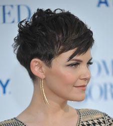 Coole kurze Frisuren mit einer schwarzen/dunklen Haarfarbe! | http://www.frisuren-2014.com/frisuren-2014/coole-kurze-frisuren-mit-einer-schwarzendunklen-haarfarbe/