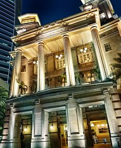 The Fullerton Hotel Singapore...