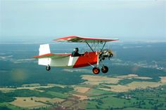 Ultralight Plane, Gliders, Ciel, Fleas, Aircraft, Lighter, Wings, Planes, Hang Gliding