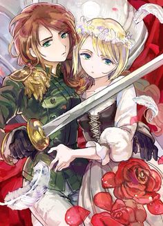 Hetalia (ヘタリア) - Fem!Lithuania & Fem!Poland