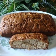 This recipe calls for lots of cinnamon with nuts and apples, making a sweet and spicy bread with a little crunch.