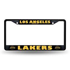 Los Angeles Lakers NBA Black License Plate Frame
