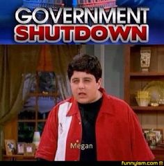The Drake and Josh reference. The Best Of The Internet's Response To The 2013 Government Shutdown Seinfeld, Full House, Gossip Girl, Drake Und Josh, Drake And Josh Megan, Icarly, Have A Laugh, Look At You, Just For Laughs