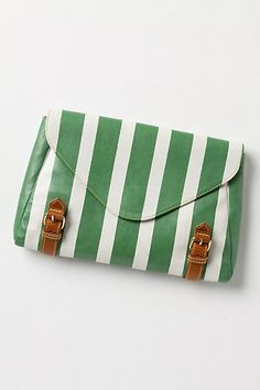 Anthropologie Parallels Clutch