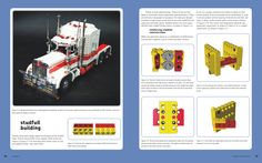 Kenworth Road Train from...  Unofficial LEGO Technic Builder's Guide | No Starch Press