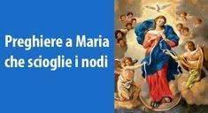 Invocazioni potenti a 'Maria che scioglie i nodi' da recitare questo sabato notte