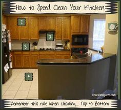 How to Speed Clean Your Kitchen and Keep it Clean and Organized