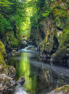 Fairy Glen ... Betws y coed, North Wales, UK  -- by Rory Trappe on Flickr