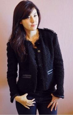 The famous actress Kim Ha Neul Korea
