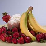 Strawberry Banana Frappe