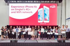 #Singtel kicks off three-day #iPhone6s and iPhone 6s Plus launch event