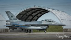 """"""" Viper Pit """" - F-16 of the Dutch airforce taxi's from the HAS complex at Landivisiau, during NTM 17."""