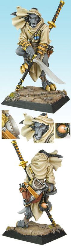wolfen- I have one of these, painted a bit differently. Sad this company stopped making the product line