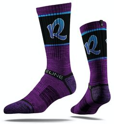 Stridelines are designed to embody the look, feel, and tradition of Grace College. This Phoenix Purple Socks features sweat-wicking fibers, select terry pads. Basketball Shorts Girls, Basketball Socks, Basketball Court, Strideline Socks, Cool Socks, Ugly Sweater, Men Sweater, Purple Socks, Patent Heels