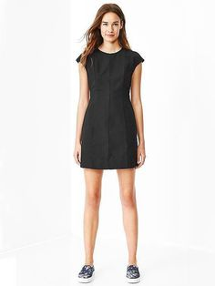 Gap Cap-Sleeve Dress