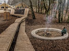 Kebony at Wonder Wood playground Wood Playground, Playground Design, Natural Playground, Playground Ideas, Urban Landscape, Landscape Design, Garden Design, Contemporary Landscape, Wood Deck Designs
