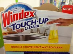 Windex Touch Up is new, will have to check it out! #DRAsianMeals