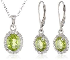 Sterling Silver Peridot Pendant Necklace and Earrings Jewelry Set Amazon Curated Collection,http://www.amazon.com/dp/B00FMLDJHS/ref=cm_sw_r_pi_dp_c9Jotb0FTKRPPGTA