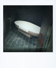 NY, Hotel Rivington. Steam Bath.