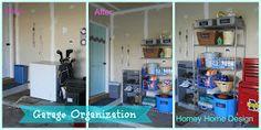 homey home design: More Garage Organization