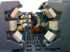 Spaceship Interior, Lego Spaceship, Lego Robot, Lego War, Lego Falcon, Lego Millenium Falcon, Legos, Starwars, Lego Ship