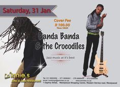 Winnies Soul and Jazz brings you Banda Banda & The Crocodiles Project live on stage– 31 Jan, 2015 |