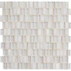 Shop American Olean x Loren Place Glamour Stone and Glass Mosaic Wall Tile at Lowe's Canada. Find our selection of backsplashes & wall tile at the lowest price guaranteed with price match. Mosaic Wall Tiles, Marble Mosaic, Stone Mosaic, Mosaic Glass, Tile Art, Dal Tile, Thing 1, Things To Sell, Lowe's Canada