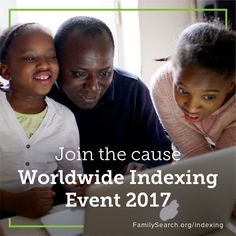 Indexing is essential for making records available and searchable for people wanting to discover their ancestors. Invite your family and friends to help by joining the upcoming Worldwide Indexing Event and contributing to Free Family Tree, Your Family, Time Activities, Family Search, Family History, Get Started, Jesus Christ, Invite, Saints