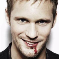 Eric, True Blood. That smile just made my heart melt.