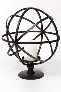 Globe Lantern at EziBuy Home New Zealand. Buy homeware and gifts at exceptional value. Globe, Unique Gifts For Him, Decoration, Scandinavian Design, Home Gifts, Lanterns, Candle Holders, New Homes, Table Lamp