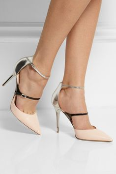 Jimmy Choo | Escarpins en cuir Typhoon 2014 PFW @}-,-;—