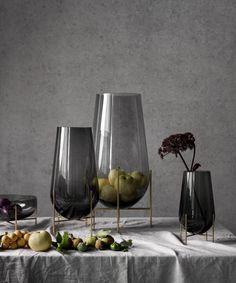 MENU | Èchasse vases & bowl by Theresa Arns, photo by Mikkel Rahr Mortensen