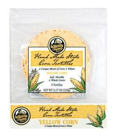 Closest to Homemade: La Tortilla Factory Hand Made Style Yellow Corn Tortillas | They can be the foundation for countless easy family meals.