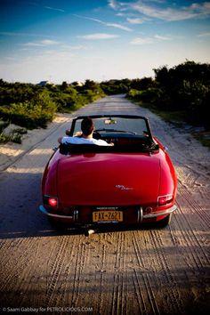 Sexy bootie ;)  1967 Alfa Romeo Duetto