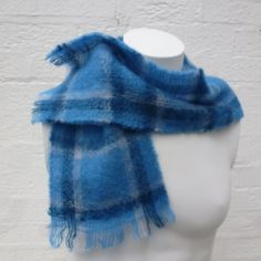 Womens scarf small neckwarmer vintage scarf winter by Regathered