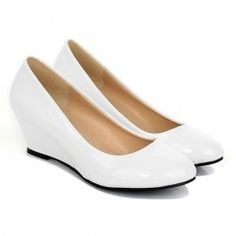 Patent Leather Design Wedge Shoes For Women $10.15
